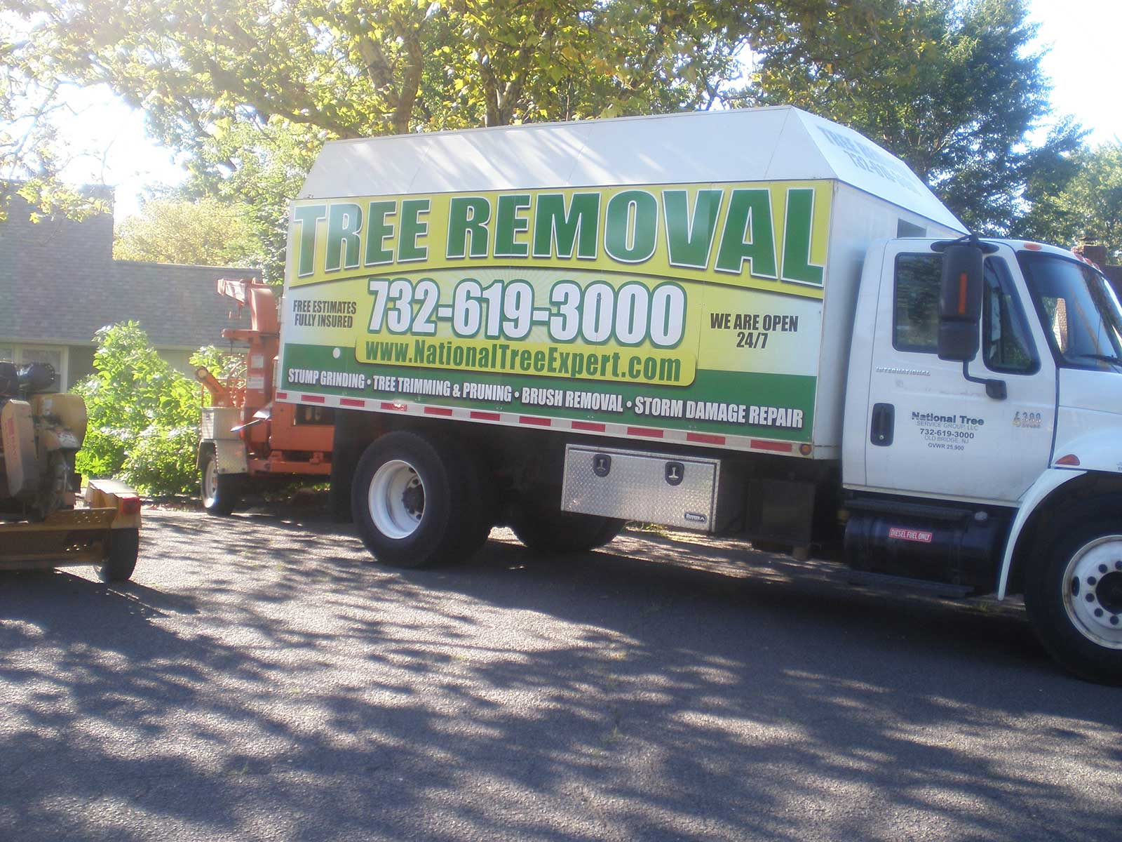 Open 7 Days a Week for Tree Service